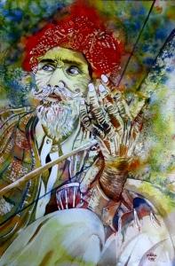 runa biswas painting